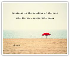 Happy Quote Beach photography print by theartofobservation on Etsy, $25.00