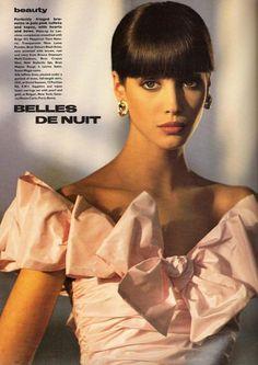 """Christy Turlington for UK Vogue June de Nuit"""" Christy Turlington, 80s And 90s Fashion, Trendy Fashion, Vintage Fashion, Vintage Beauty, High Fashion, 90s Models, Fashion Models, Female Fashion"""