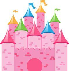 Princesas e fadas 2 - Minus Pink Castle, Princess Castle, Pink Princess, Nursery Rhymes Poems, Chip Art, Cinderella Party, Disney Dream, Princesas Disney, Cute Cartoon