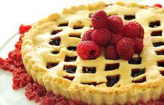 Raspberry-Almond (Pasta Flora) Cake - Chef Osama - The Good Taste Company