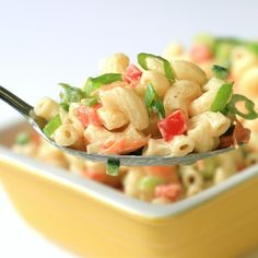 """Chef John's Classic Macaroni Salad I """"Whether it's sitting next to some smoky ribs or just a humble hot dog, this deli-style macaroni salad will always be a crowd favorite, as long as you pay attention to a few key details."""""""