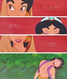 Aladdin. Basically, this is how you win my heart in under a minute.