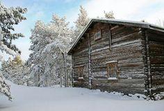 Winter in Seurasaari open air museum