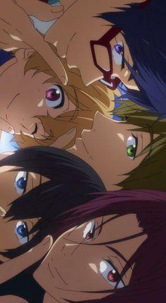 Animes Wallpapers, Cute Wallpapers, Anime Boy Sketch, Rin Matsuoka, Splash Free, Free Eternal Summer, Free Iwatobi Swim Club, Cute Anime Wallpaper, Free Anime