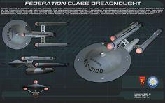 Federation Class Dreadnought Starship by unusualsuspex on DeviantArt