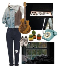 """""""one hit wonder"""" by kxliemarie on Polyvore featuring H&M, Topshop, adidas and Retrò"""