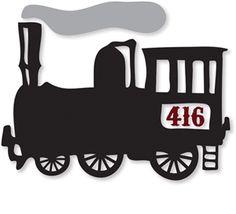 Silhouette Design Store - View Design #14027: steam train