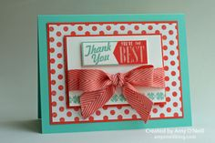 Hello Lovely stamp set, Mosaic Madness stamp set, I Am Me DSP, Chevron Ribbon