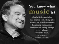Thank U . Robin Williams for all the joy and laughter and Reality ....