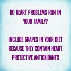 #health #heart #grapes #antioxidants #tips #advice #muslim #homemaker