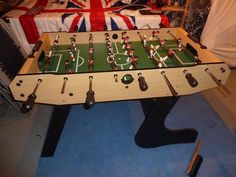 Table football = hours of fun!