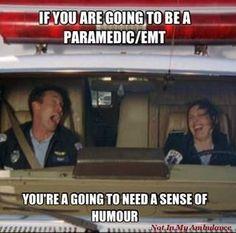 Ems...Scrubs, Dr. Cox doing a medic shift