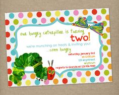 Custom Printable The VERY HUNGRY by thepaperblossomshop on Etsy, $10.00