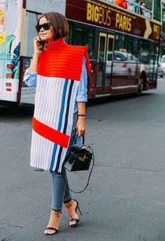 Poncho - Cape - Tommy Ton Menswear Fashion Week Street Style Paris 2015