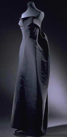 Balenciaga robe du soir bustier