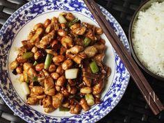 Gong Bao Ji Ding (Sichuan Kung Pao Chicken) RecipeFollow for  Mein Blog: Alles rund um Genuss & Geschmack  Kochen Backen Braten Vorspeisen Mains & Desserts!