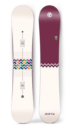 The Flow Jewel Snowboard Winter 2015-16 is the board of choice by Flow's Top female athlete Sarka Pancochova and a true testament to our commitment to women's snowboarding.