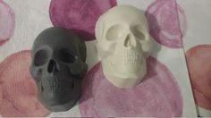 Skull's Alive All Natural Handmade Soap with Coconut oil - Charcoal with Spearmint, Coconut with Lime, Melon with Lime, SLS & Palm Oil Free by MadeAfterDark on Etsy