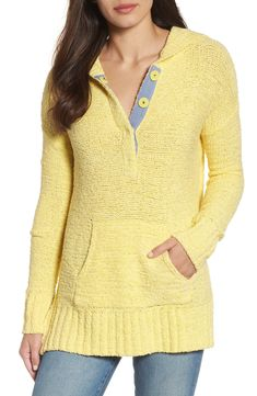 Beachy hooded knit s