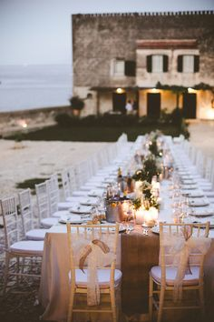 Oceanside Shabby Chic Wedding In Italy