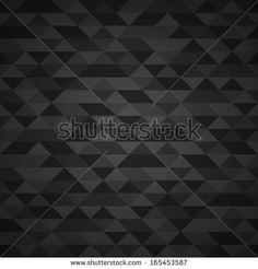 Dark gray vector grunge retro triangle seamless background pattern