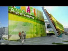 """Watch a preview of """"The fields of tomorrow"""": the Pavilion of #Israel at Expo Milano 2015. It will provide an immediate and powerful visual experience which will present the development of agricultural technology to testify the extraordinary journey into the future of all humanity. The architectural project by David Knafo was inspired by the characteristic aspect of Israel's agricultural production, turned into element of the building which will be covered with a vertical cultivated garden"""