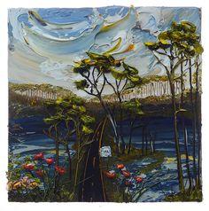 24x24 Lake Scene By: Justin Gaffrey