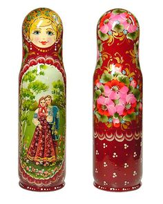 Matryoshka Wine Bottle Holder, yes please! Doll Painting, Matryoshka Doll, Pink Room, Wooden Hand, Wine Bottle Crafts, Russian Art, Bottle Design, Beautiful Dolls, Hand Painted