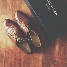 Jagger Weave Oxford in Sequoia | Cole Haan