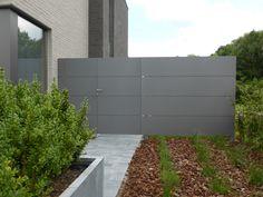 tuinpoort aluminium | Aluminium Tuinpoorten Draaipoorten Schuifpoorten Videofonie Aluminium ...