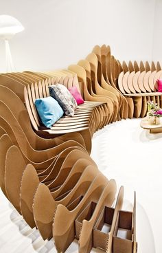 Cardboard Fun / Sanchez-Garrido Architects Cortesía de Sanchez-Garrido Architects