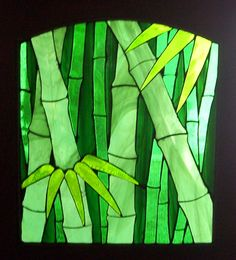 bamboo stained glass by ~CindyCrowell on deviantART