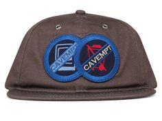 Cav Empt PATCH LOW CAP Grey Headgear ce87b4089edd