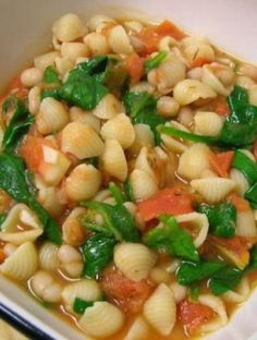 Tuscan White Bean  Spinach Soup | Recipes