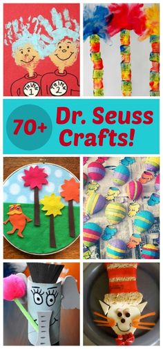 Fun and creative Dr. Seuss crafts for kids