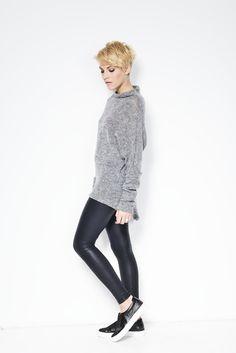 NEW Sweater / Asymmetric Blouse / Oversized by marcellamoda