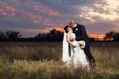 Ranch wedding country sunset. #ranchwedding #texaswedding #sunset #rusticwedding