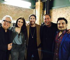 club de fansY Hasta aquí hemos llegao disfrutando de Leo Harlem Sinacio y Sergio Olalla.  Muchas risas y buena compañía.