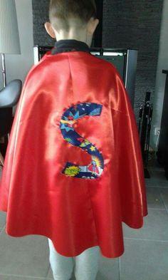 La cape de mon super héros !!