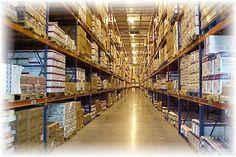Este es el interior de el almacén. Hay mucho bosque.