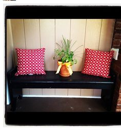 front porch bench