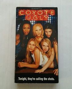 Coyote Ugly VHS, 2001 Piper Perabo, Tyra Banks