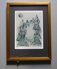 winter trees - Grant Parker Glass
