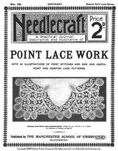 Point Lace Book Lace Patterns Victorian Laces c1910