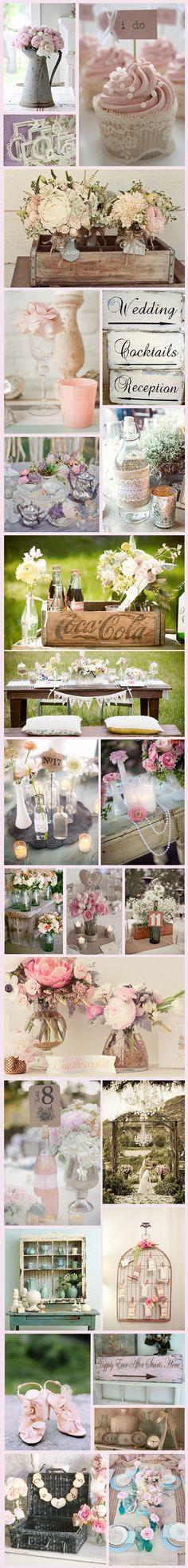 シャビーシックな結婚式ー1 の画像|可愛い結婚式を自分でつくろう