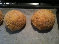 arancini al forno ripieni di pomodoro e piselli