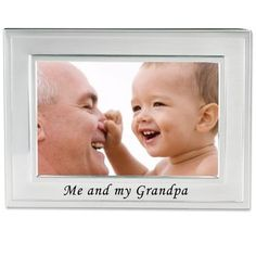 Memories Photo Frame - Fishing with Grandpa Lawrence Frames Me and My