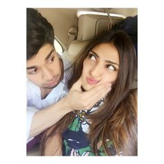 Athiya Shetty posted this adorable snap of herself with 'Hero' co-star Sooraj Pancholi. #Bollywood #Fashion #Style #Beauty #Instagram