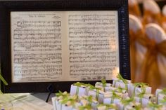 Frame your favorite song's music for a sentimental touch