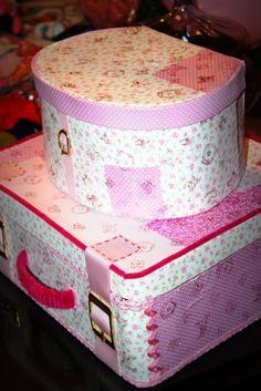 Cake suitcase finalized!